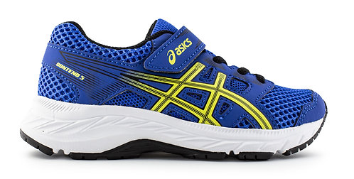 ASICS CONTEND 5PS 401 BLUE/LEMON SPARK