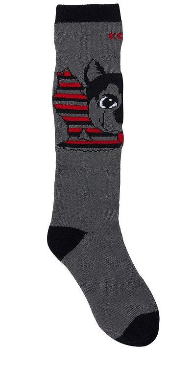 F10509-4560 Animal Fam Jr socks