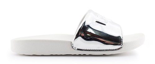 UGG 1101569K GRAPHIC SLIDE SILVER