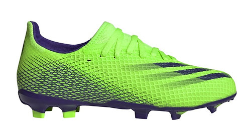 ADIDAS X GHOSTED.3 OUTDOOR SOCCER LIME