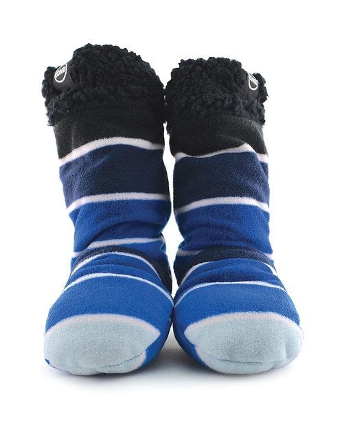 F0339-1452 SherpaFleece Jr Sock Blue