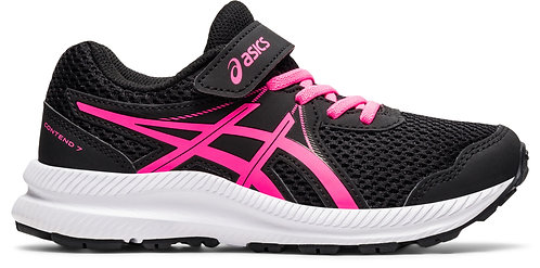 ASICS CONTEND 7 PS BLACK/HOT PINK