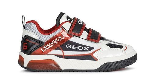 GEOX J INEK D B.A J02BRA C0050 WHT/RED