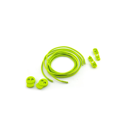 1160NNE Green Lock Laces