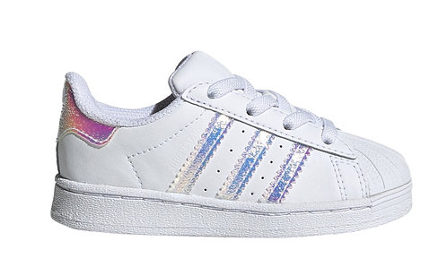 ADIDAS SUPERSTAR EL I WHT/MULTI