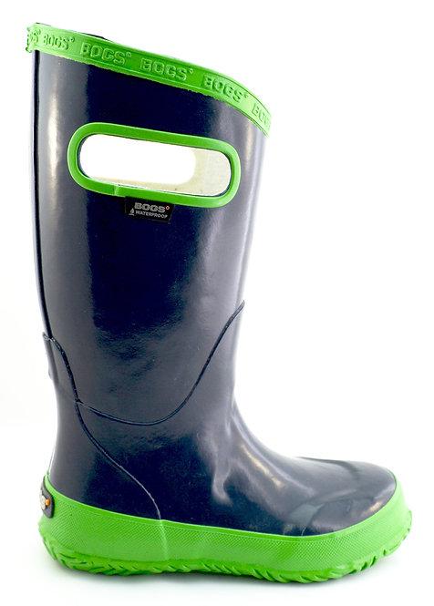 71326-411 Rainboot NAVY/GREEN