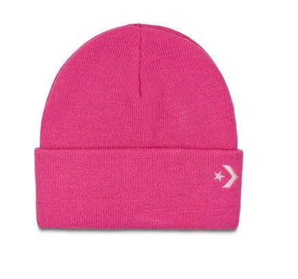 CONVERS CORE BEANIE PINK