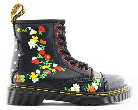 Y 24116019 POOCH FLOWER BLK