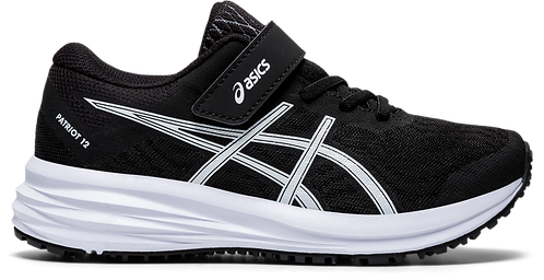 ASICS 1014A138-001 PATRIOT 12 PS BLK/WHT