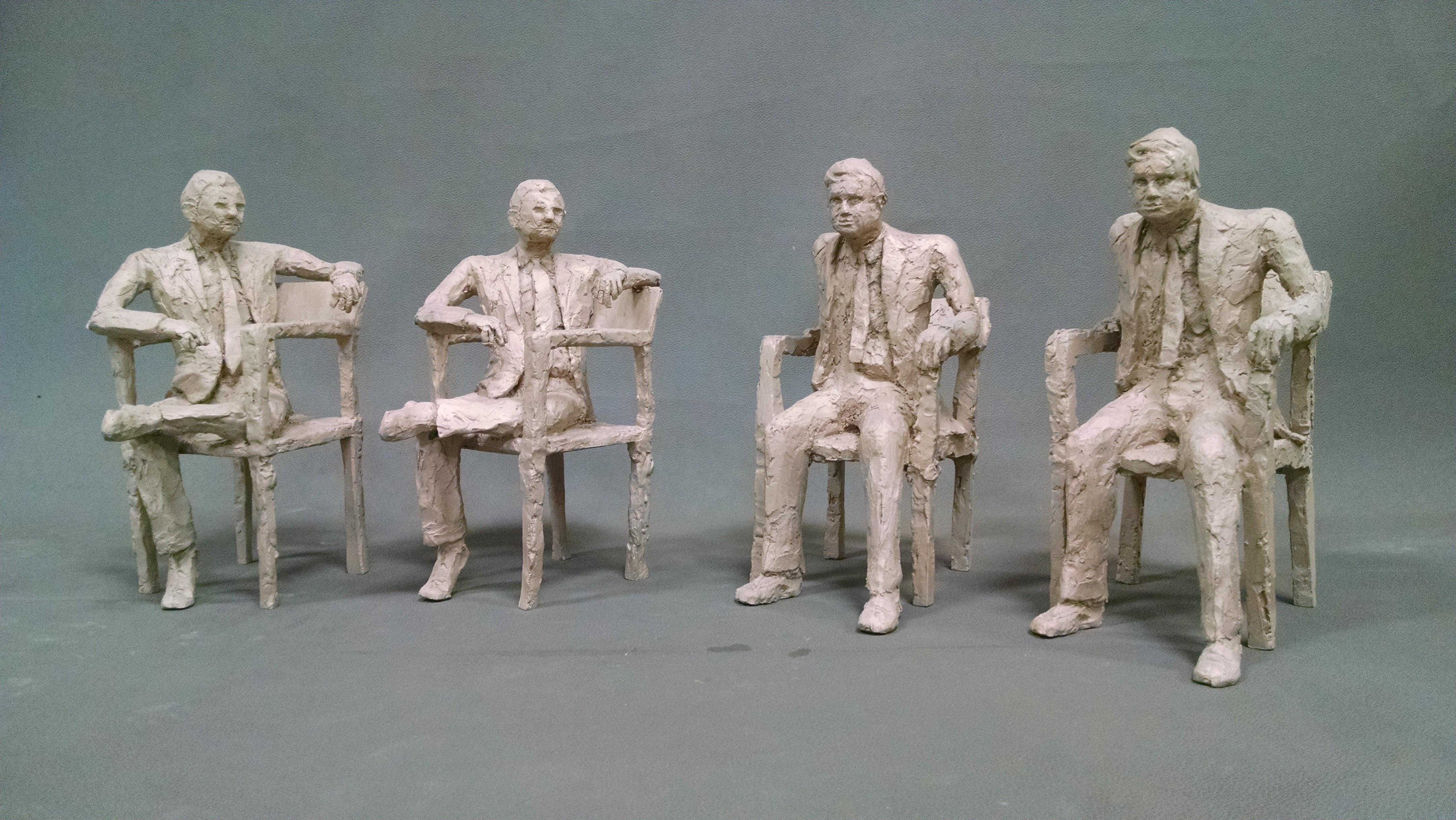 Artist: Christopher Newman. Bronze
