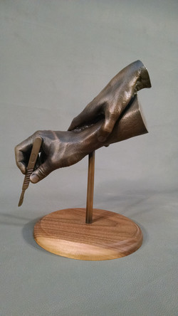 Artist: Lloyd Mandelbaum. Bronze