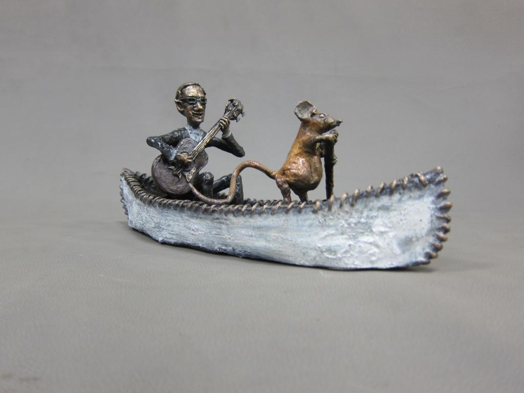 Artist: Helen Stichel. Bronze