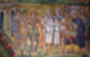 Matthew 2 Wise men & Herod mosaic.jpg
