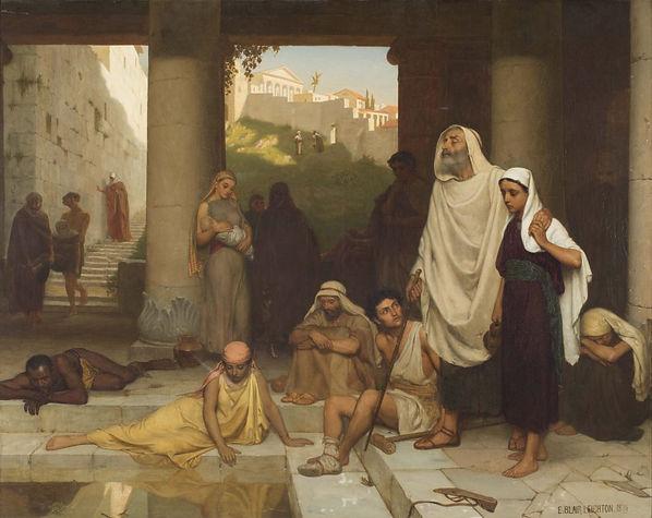 John 9 Blind man at Siloam by Edmund Lei