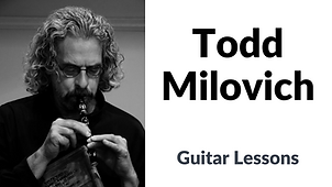 Buttom for private guitar lessons taught by Todd Milovich.  Click to email instructor.