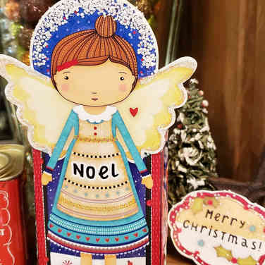 Noel Angel Downloadable Treatbox