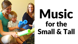 Buttom for Music for the Small & Tall.  Click to go to their website.  Program is primarily for babies and preschoolers.