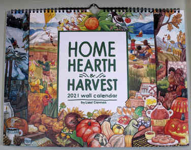 Home Hearth Harvest 2021 Calendar
