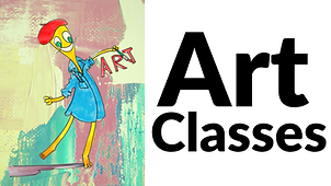Buttom for Art Classes.  Click to find more information about this program.