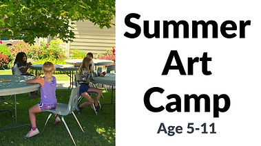 Summer Art Camp for age 5-11