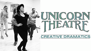 Buttom to tge Unicorn Theatre program which has classes and acting opportunities for ages 5-17.  Click to go to their website.