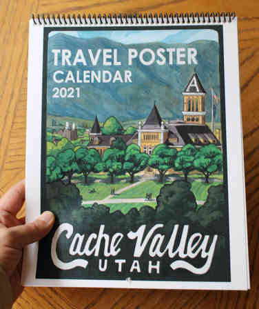 Wall Calendar 2021 Cache Valley