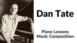 Button for private piano or music composition lessons taught by Dan Tate.  Click to go to his website.