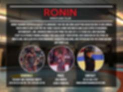 Wrestling Flyer 2018 Ronin Training Cent