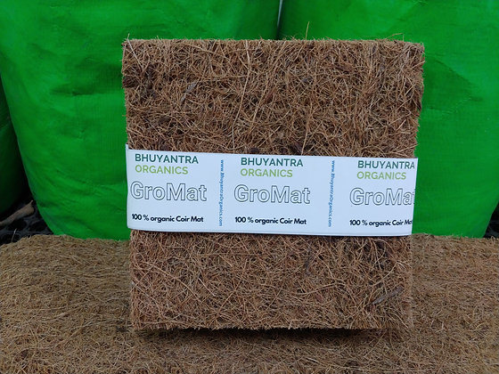 GroMat - 100% certified organic coir mat for Microgreens & Multipurpose Use