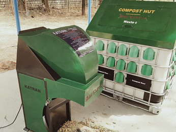 [Update] Installation of Compost Hut at Airforce College.