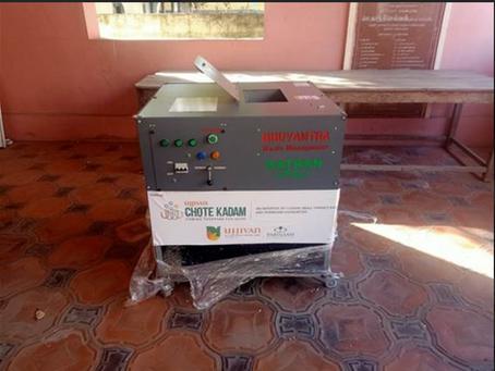 [Update] Installation of KATRAN - rePlast at Kumarpalyam Municipality Headquaters