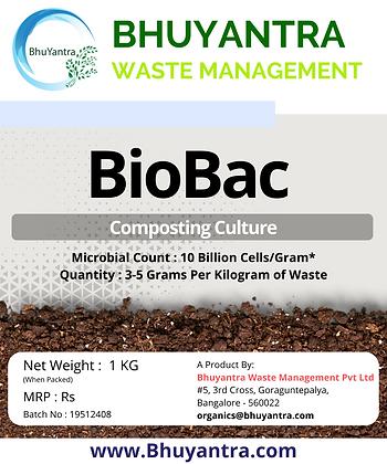 BioBac - Aerobic Composting Bacteria Culture