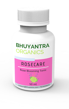 Bhuyantra Organics - RoseCare - 50 ml
