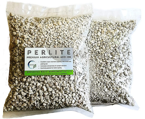 Perlite for Terrace Gardening & for Hydroponics