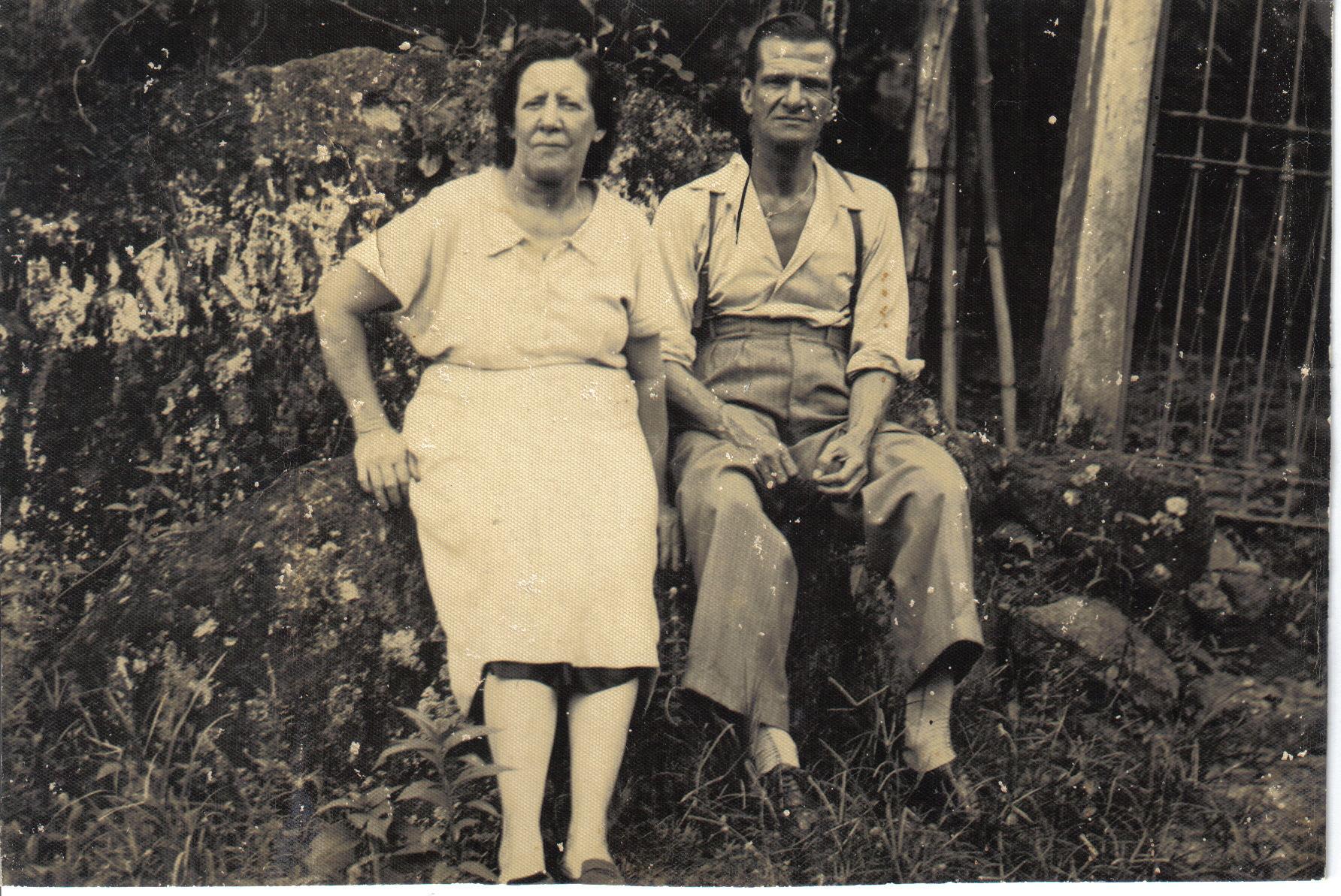 Zélio de Moraes e Maria Izabel