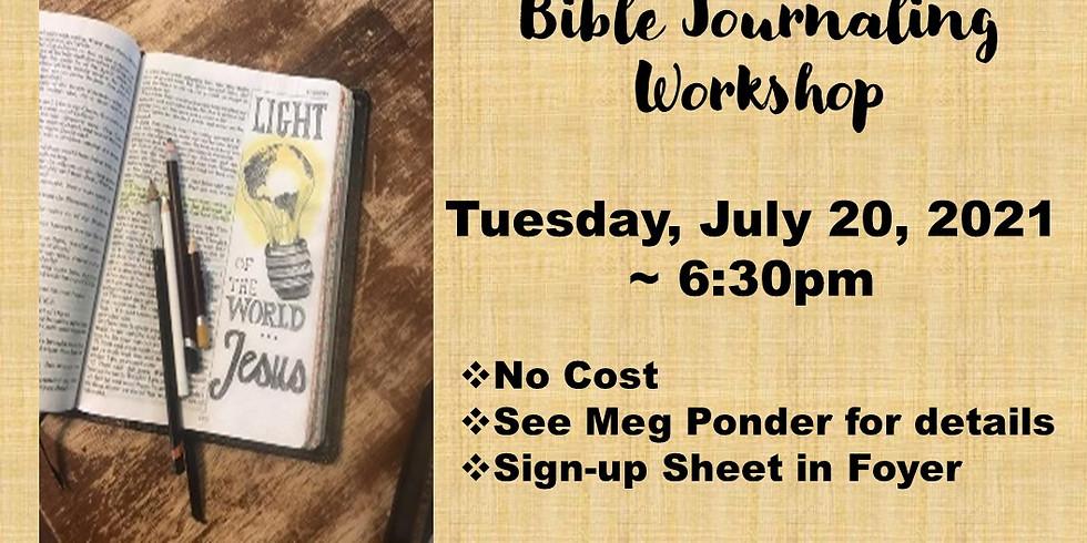 Bible Journaling Workshop