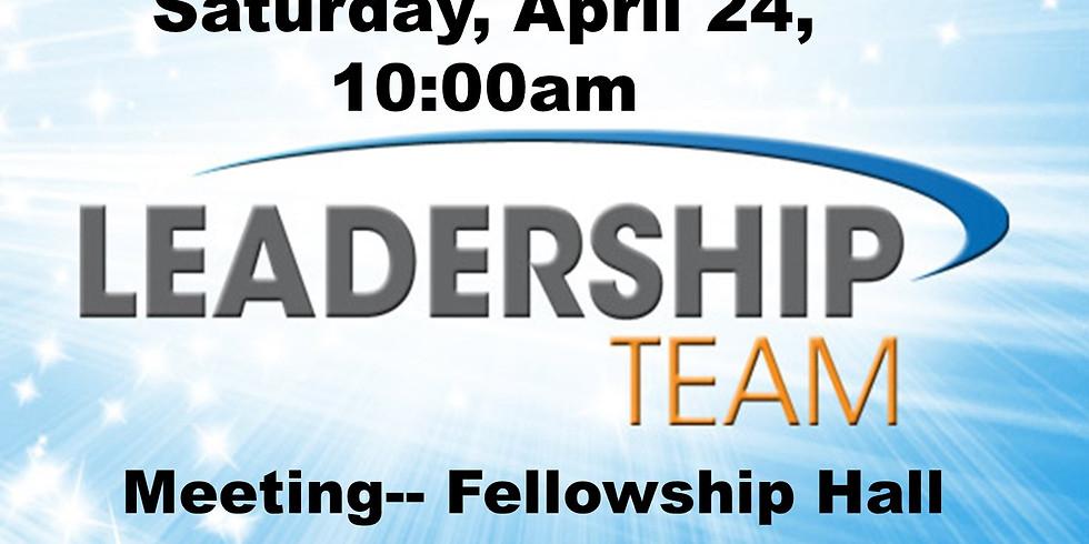 Leadership Meeting