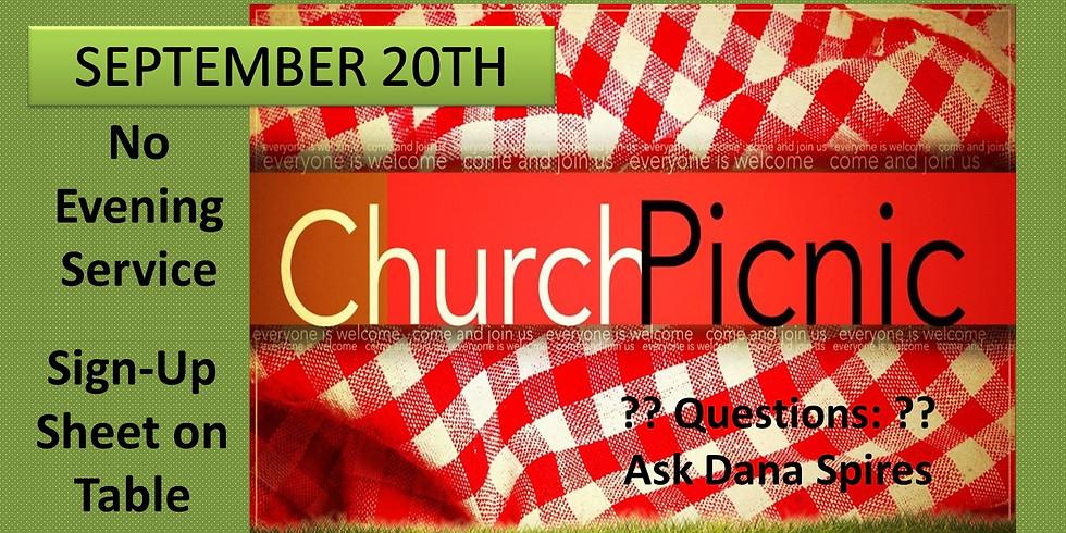 Church Picnic, Sep 20