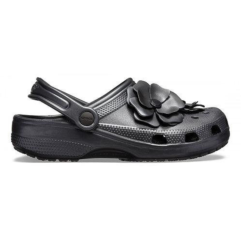 Crocs Clog Vivid Bloom Black