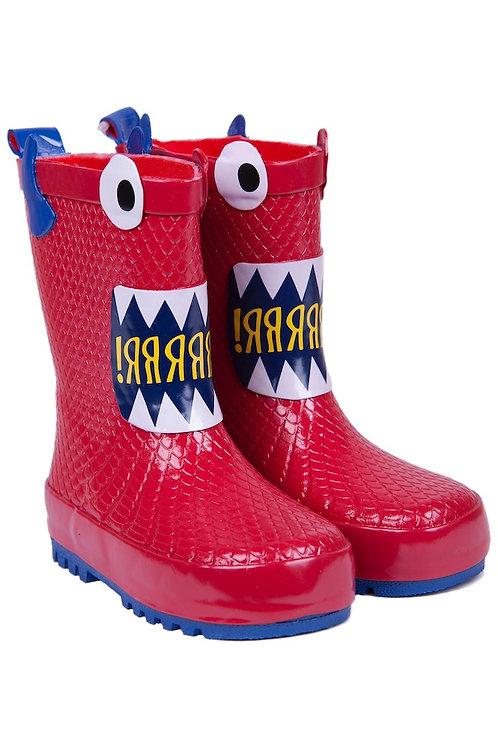 Rain boot monster