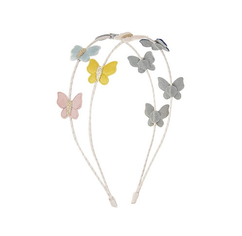 Cerchietto con farfalle