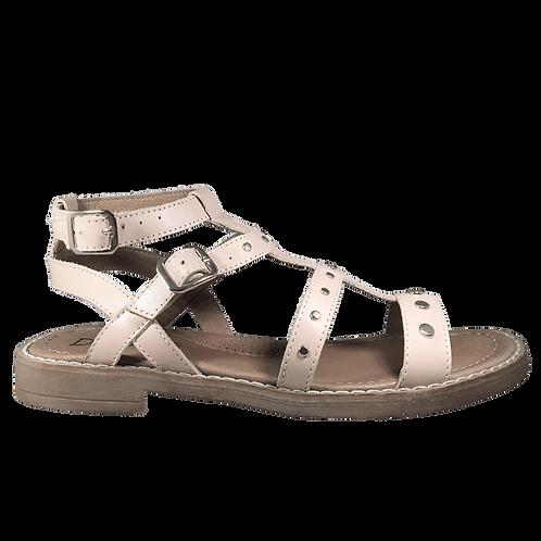Sandali alla gladiatore nudo