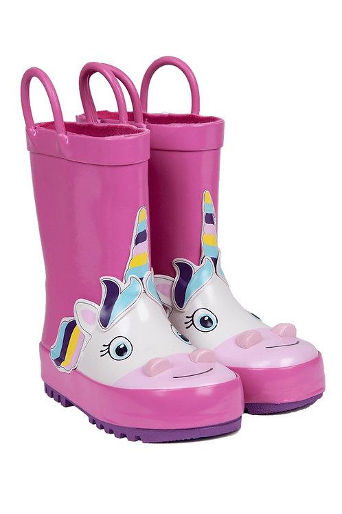 Rain boot unicorn