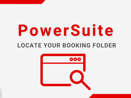 Tips - Booking Search Bar to Locate Your Booking Folder Anytime!