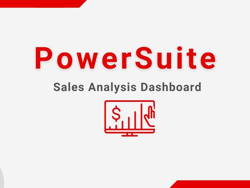 PowerSuite Sales Analysis Dashboard - KPIs Monitoring