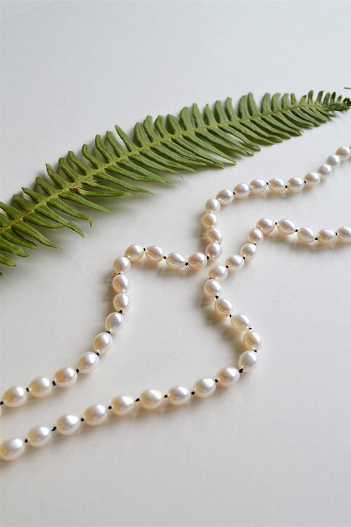 Knotted Pearl Strand 2
