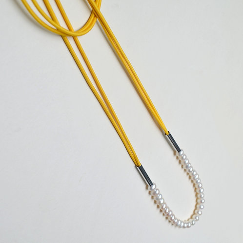 Pearl Rope In Yellow