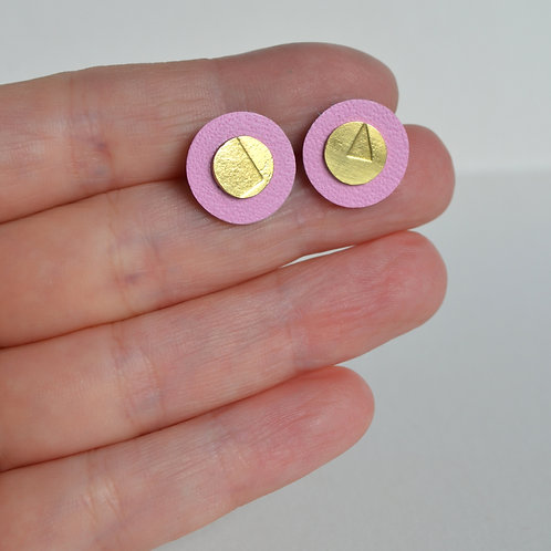 Play Earrings in Pastel Pink