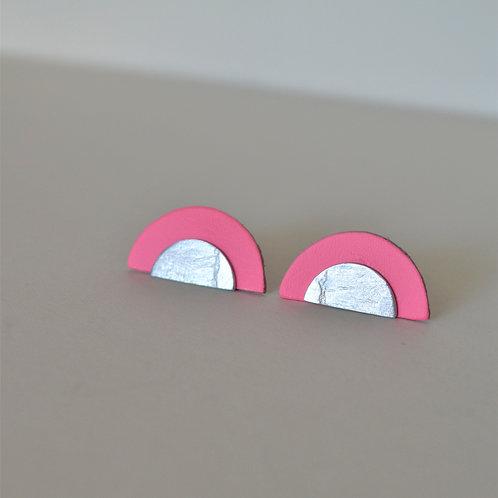 Play Earrings In Pink
