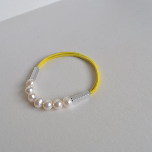 Pearl Bracelet In Yellow